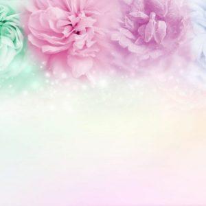 Pompones de papel de colores