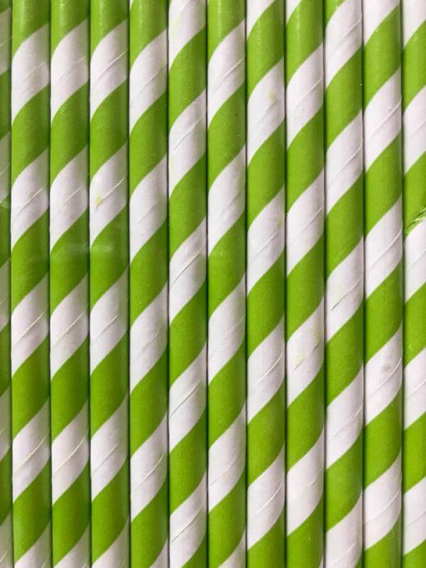 pajitas originales de papel