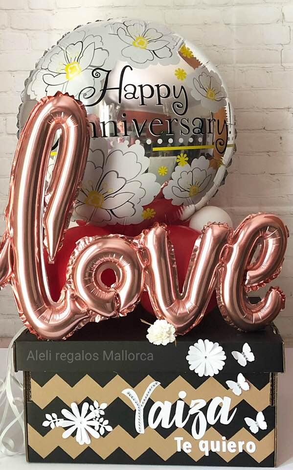 Caja sorpresa aniversario
