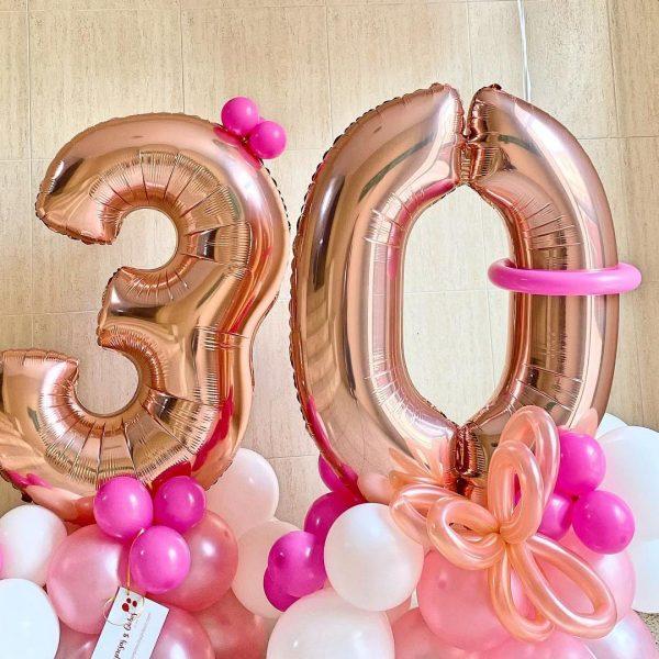 globos para 15 años